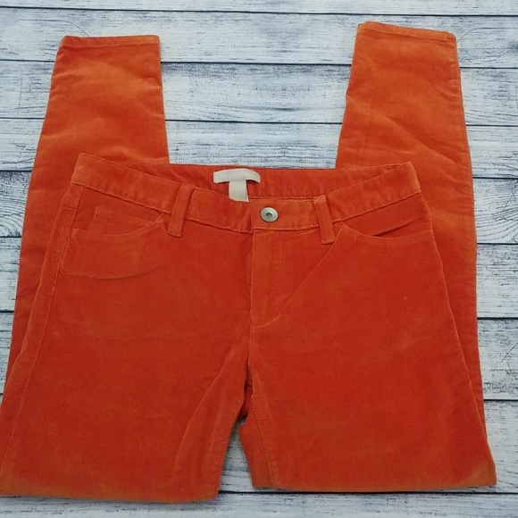Banana Republic Denim - Banana Republic bold pumpkin orange corduroy pants